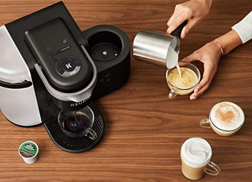 amazon slices prices on keurig k cup coffee makers for labor day cafe single serve maker  latte and cappuccino 2 1