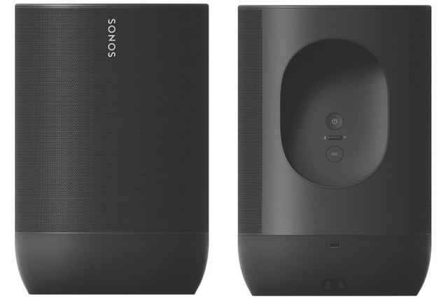 sonos first bluetooth speaker move front back
