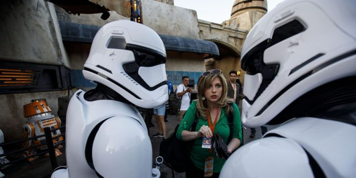 Disney Claims Force Was Too Strong at Star Wars Attraction