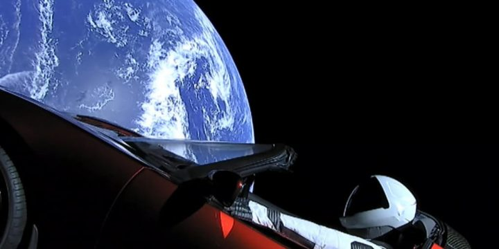 Starman on Tesla Roadster Makes First Orbit Around Sun in 557 Days