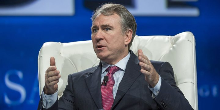 Citadel's Griffin Reaps Windfall From Company's Bond Sale